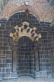 Borggården av Madrasa Royaltyfria Foton
