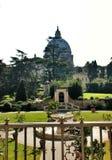 Borggården av Vaticanen Arkivfoto