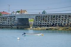 Borggården till bron för stil för den Orr öcribstonen är den enda arkivfoton