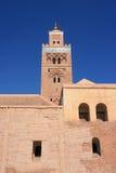 borggårdkoutoubiamarrakesh moské Arkivbild