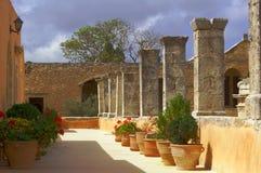 Borggårdortodoxkloster Royaltyfria Foton