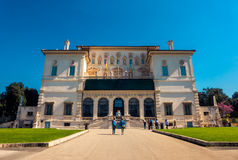 The Borghese Gallery in Rome, Italy Stock Photo