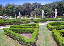 Borghese park. Landscape in a sunny day stock photography