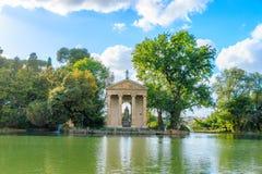 borghese rome villa arkivfoto