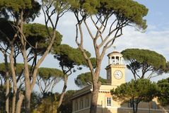 borghese rome villa Royaltyfri Bild