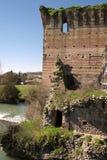 Городок Borghetto Италии Стоковое Изображение