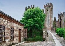 Borghetto castle Royalty Free Stock Photos