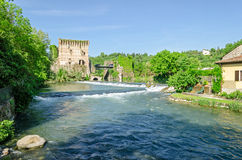Borghetto del Mincio, Italy Stock Photo
