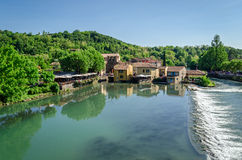 Borghetto del Mincio, Lombardia, Italy Royalty Free Stock Photo