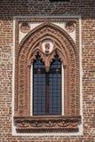 Borghetto Lodigiano Italië: het kasteel Stock Foto's
