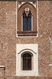 Borghetto Lodigiano Italy: the castle Royalty Free Stock Image