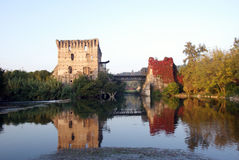 Borghetto sul Mincio Italy Royalty Free Stock Photography