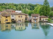 Borghetto, Valeggio sul Mincio, Italy Stock Image