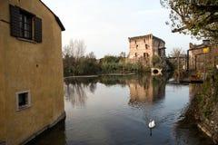 Borghetto village Stock Images