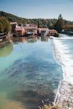 Borghetto village .Valeggio sul Mincio. Italy Stock Images