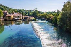 Borghetto village .Valeggio sul Mincio. Italy Royalty Free Stock Photo
