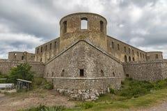 Borgholm城堡废墟 免版税图库摄影