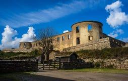 Borgholm城堡 免版税库存照片