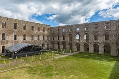 Borgholm Castle Ruin Stage Royalty Free Stock Photos