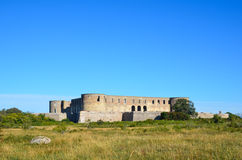 Borgholm castle ruin, Sweden Stock Photography