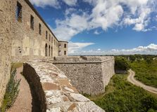 Borgholm fort ruin on Oland. Sweden stock photos