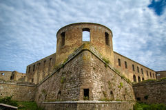 Borgholms slottsruin. Borgholm castle ruin from the 12th century. Borgholm, Öland, Sweden Stock Photos