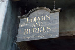 Borgin and Burkes Stock Photos