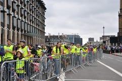 Borgmästare av London Skyride som cyklar händelse i London, England Arkivbild