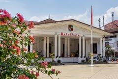 Borgmästare Office Balaikota i Bogor, västra Java, Indonesien Royaltyfri Fotografi
