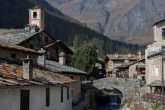 Borgo Di chiamale in Piemonte Royalty-vrije Stock Foto's