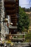 Borgo Di chiamale in Piemonte Stock Foto
