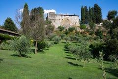 Borgo Di Tragliata Lazio Italia Imágenes de archivo libres de regalías