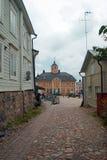 Borgo en Finlandia Fotografía de archivo libre de regalías