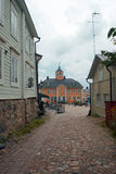 Borgo in Finland Royalty Free Stock Photography