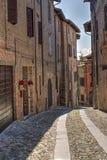 Borgo Italiano Stock Photography