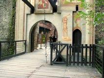 Borgo Medievale from Turin (Torino), Italy Stock Photography