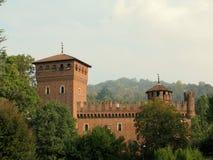 Borgo Medievale from Turin (Torino), Italy royalty free stock photography