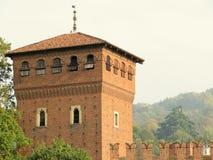 Borgo Medievale from Turin (Torino), Italy Stock Photos