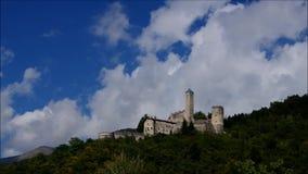 Borgo Valsugana Castel Telvana stock video