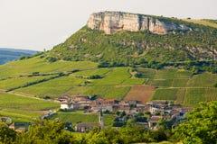 Borgoña Imagenes de archivo