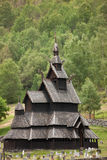 Borgund Daubekirche Stockfotos