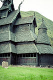 Borgund Stave church. Built in 1180 to 1250, and dedicated to th Royalty Free Stock Image
