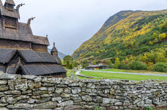 Borgund Stave church Stock Image