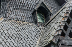 Borgund Stave church Royalty Free Stock Photos