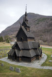 Borgund Stave Church Royalty Free Stock Photo