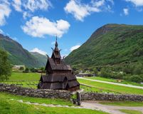 Borgund Stave Church, Norway Stock Photography