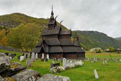 Borgund Stave Church, Norway Royalty Free Stock Image