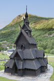 Borgund Stave Church Stock Photography