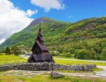 Borgund Stave Church, Norway Stock Image