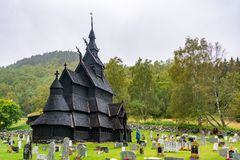 Borgund Stave Church in Norway Stock Photos